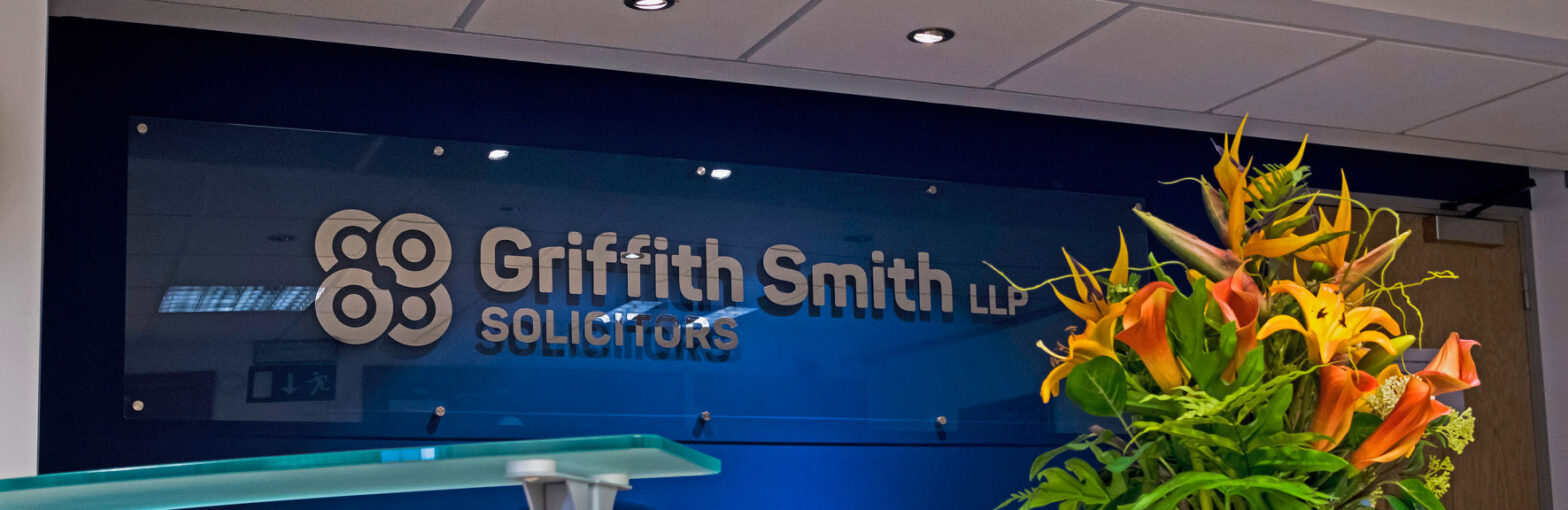 branding and signage design for Griffin Smith