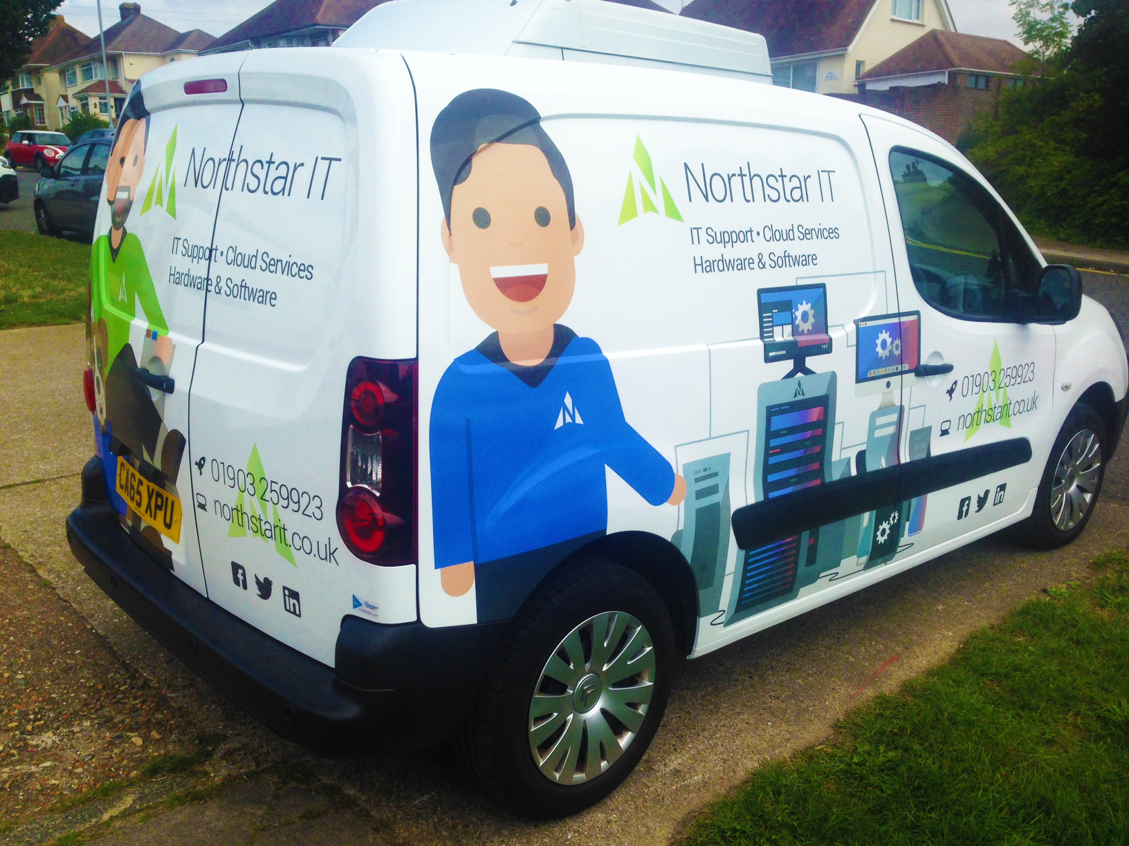Northstar IT vehicle graphics