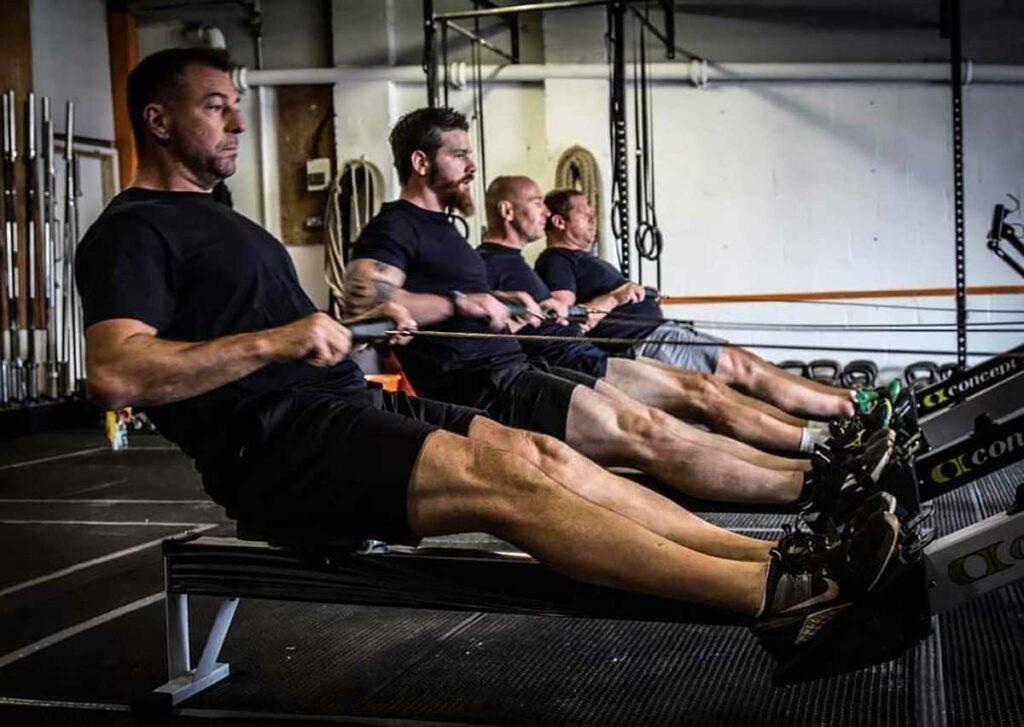 Ocean Dadventure team in training