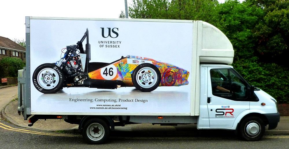 university of sussex van graphics