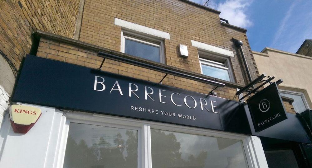 Barrecore Ballet Studio fascia