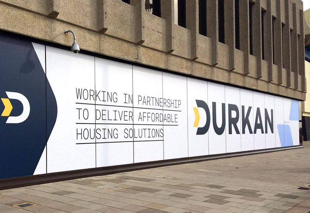 Brighton Centre Conference signs Durkan