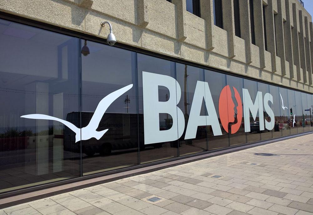 Brighton Centre conference signs