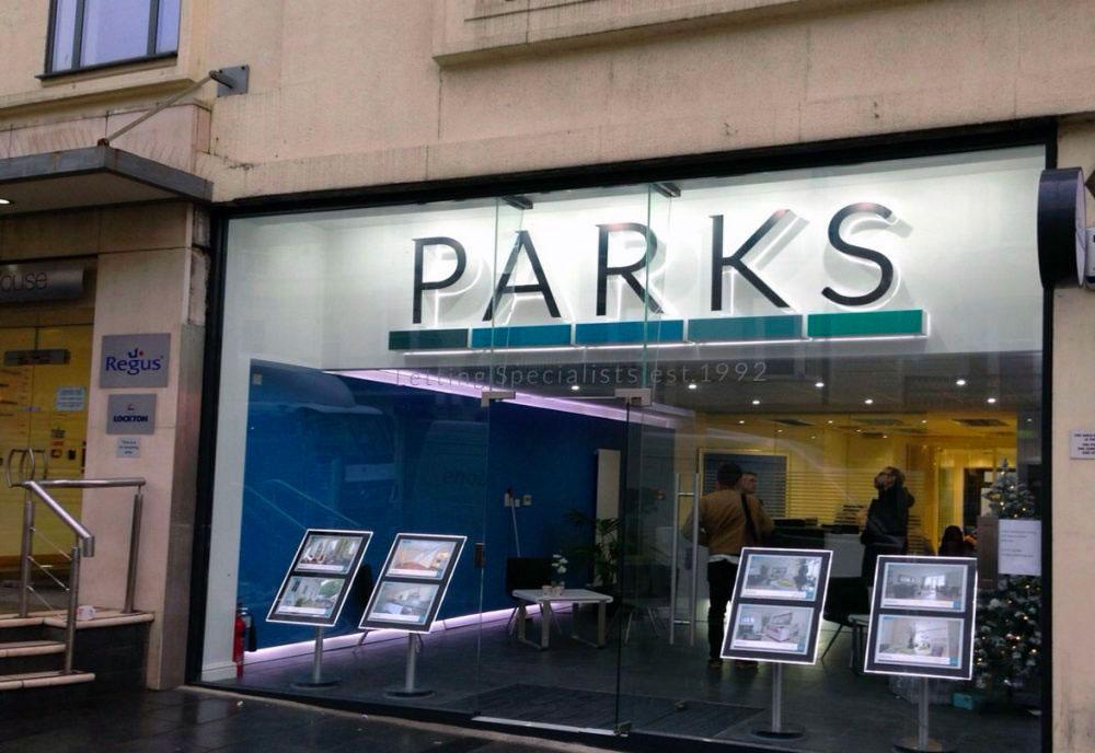 Parks Residential Estate Agents sign