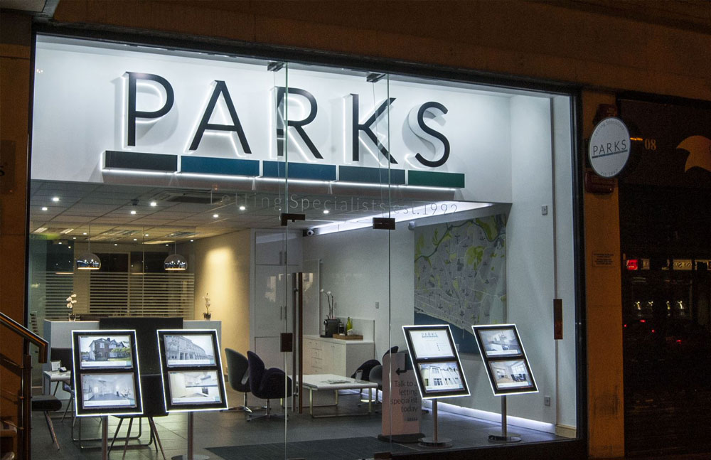Parks Residential signage