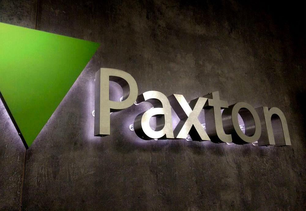 Paxton Access logo sign